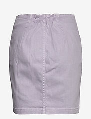 Samsøe Samsøe - Bertha skirt 11492 - jeansowe spódnice - lilac - 1