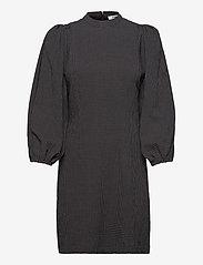 Samsøe Samsøe - Harrietta short dress 11238 - hverdagskjoler - black ch. - 0