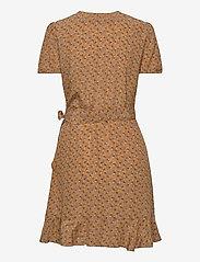 Samsøe Samsøe - Linetta dress aop 10056 - omlottklänningar - blossom - 1