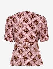Samsøe Samsøe - Petunia ss blouse aop 10056 - blouses met korte mouwen - foulard - 1
