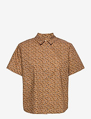 Samsøe Samsøe - Mina shirt ss aop 11332 - overhemden met korte mouwen - blossom - 0