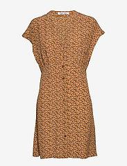 Samsøe Samsøe - Valerie short dress aop 10867 - krótkie sukienki - blossom - 0