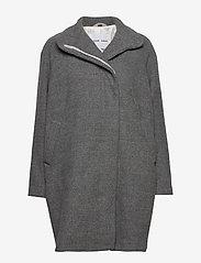 Samsøe Samsøe - Hoffa jacket 12840 - wollen jassen - light grey mel. - 0