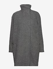 Samsøe Samsøe - Hoffa jacket 12840 - wollen jassen - light grey mel. - 1