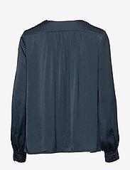 Samsøe Samsøe - Jetta shirt 12770 - långärmade blusar - midnight navy - 1