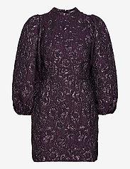 Samsøe Samsøe - Harriet short dress 12905 - cocktailkjoler - purple jasper - 0