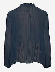 Samsøe Samsøe - Lady ls blouse 11185 - langærmede bluser - midnight navy - 1