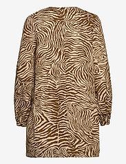 Samsøe Samsøe - Aram short dress aop 10783 - summer dresses - mountain zebra - 2