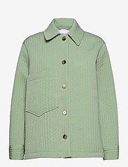 Samsøe Samsøe - Ember jacket 13107 - wool jackets - vineyard green - 0