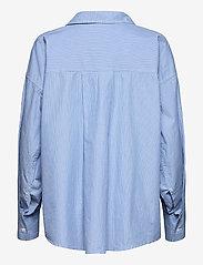 Samsøe Samsøe - Arielle shirt 11466 - langærmede skjorter - dusty blue st. - 1