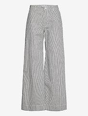 Samsøe Samsøe - Allie trousers 13158 - bukser med brede ben - milk boy st. - 1