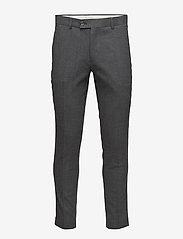 Samsøe Samsøe - Laurent pants 6568 - od garnituru - dark grey mel. - 0