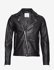 Samsøe Samsøe - Spike jacket 7248 - lederjacken - black - 0