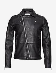 Samsøe Samsøe - Spike jacket 7248 - lederjacken - black - 1