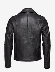 Samsøe Samsøe - Spike jacket 7248 - lederjacken - black - 2