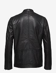 Samsøe Samsøe - Starship jacket 1440 - kurtki skórzane - black - 1