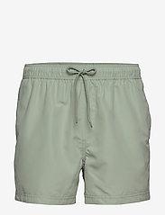 Samsøe Samsøe - Mason swim shorts 6956 - badehosen - frosty green - 0