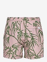 Samsøe Samsøe - Mason swim shorts aop 6956 - badehosen - misty rose palm - 1