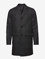 Samsøe Samsøe - Grin coat 11122 - wool coats - black ch. - 0