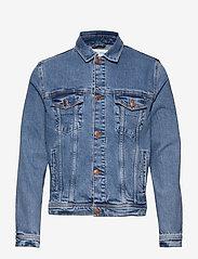 Samsøe Samsøe - Laust Jacket 11354 - farkkutakit - light ozone marble - 0