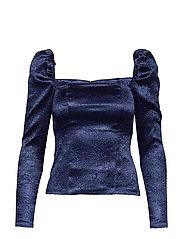 Nomie blouse 12734 - BLUE DEPTHS