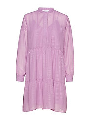 Calla shirt dress 11512 - LANGUID LAVENDER