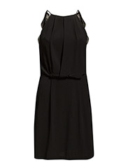 Willow short dress 5687 - BLACK