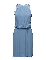 Willow short dress 5687 - SILVER LAKE BLUE