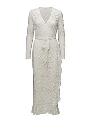 Limona l wrap dress 10591 - WHITE