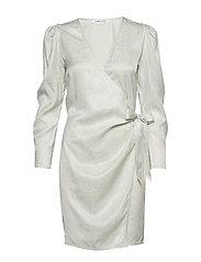 Magnhild short dress 12733 - CHAMPAGNE SHINE