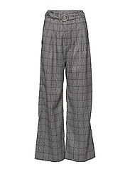 Mella pants 10595 - B/W CHECK
