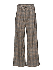 Mella pants 10621 - ORANGE CHECK