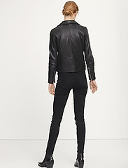 Samsøe Samsøe - Tautou jacket 2771 - leather jackets - black - 5