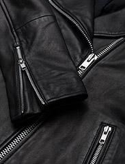 Samsøe Samsøe - Tautou jacket 2771 - kurtki skórzane - black - 7