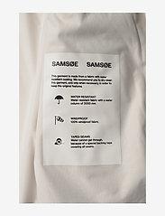 Samsøe Samsøe - Stala jacket 7357 - regntøj - warm white - 2