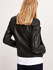 Samsøe Samsøe - Duris jacket 7248 - nahkatakit - black - 7