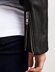 Samsøe Samsøe - Duris jacket 7248 - nahkatakit - black - 8