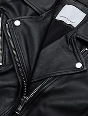 Samsøe Samsøe - Duris jacket 7248 - nahkatakit - black - 2