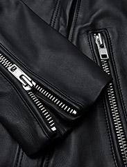 Samsøe Samsøe - Duris jacket 7248 - nahkatakit - black - 3