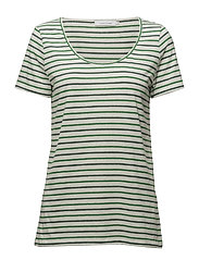 Nobel tee stripe 3173 - GREEN JOLLY ST.