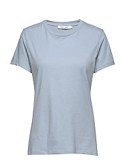 Solly tee solid 205 - DUSTY BLUE