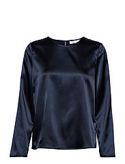 Barbarea blouse 10838 - DARK SAPPHIRE