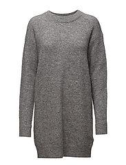 Nor o-n dress 7355 - GREY MEL.