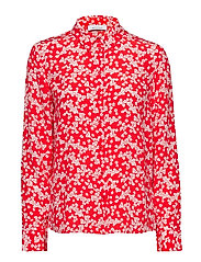 Milly np shirt aop 10458 - SCARLET DAISY