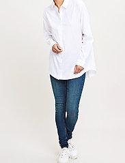 Samsøe Samsøe - Caico Shirt 2634 - long-sleeved shirts - white - 0