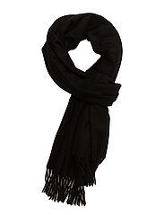 Accola maxi scarf 2862 - BLACK