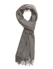 Accola maxi scarf 2862 - GREY MEL.