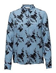 Milly shirt aop 7201 - BLUE BLOOM