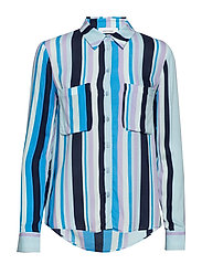 Milly shirt aop 7201 - BLUE LINE