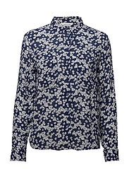 Milly shirt aop 7201 - DAISY BLUE